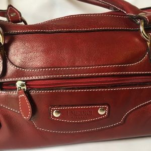 I MEDICI Satchel/Cross Body Leather Purse